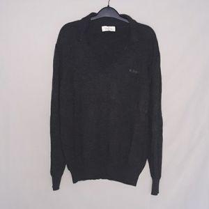 Ermenegildo Zegna grey pull over sweater